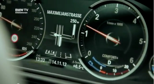The new instrument cluster (6WB)